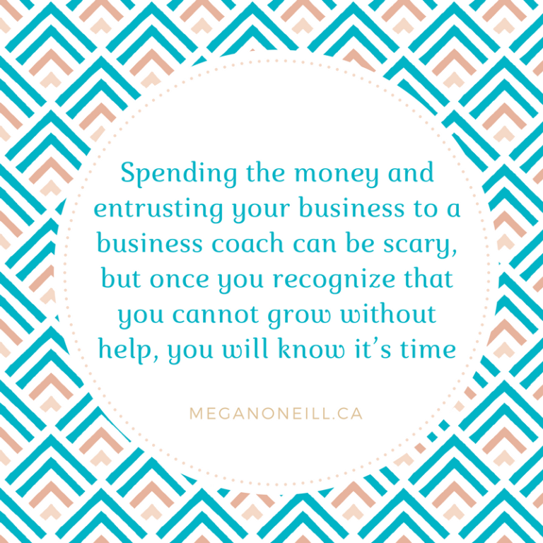 What's stopping you from working with a business coach?